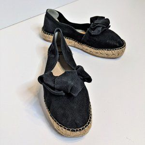 Browns | Suede espadrilles with bow